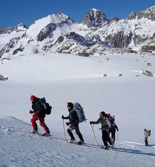 Excursió raquetes de neu en grup